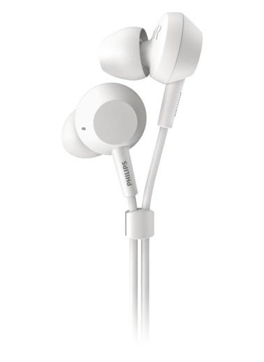Philips Philips Tae4105 Mikrofonlu Kablolu Kulak İçi Kulaklık Beyaz